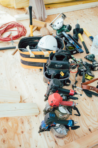 工事途中に倒産した工務店の後工事をタイセーハウジングが引き継ぎました。