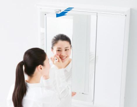 TOTO洗面化粧台【オクターブ】スウィング写真