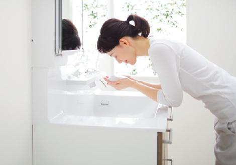 TOTO洗面化粧台【オクターブ】ボウル写真