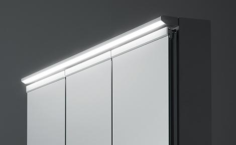 TOTO洗面化粧台【オクターブ】ワイドLED照明写真