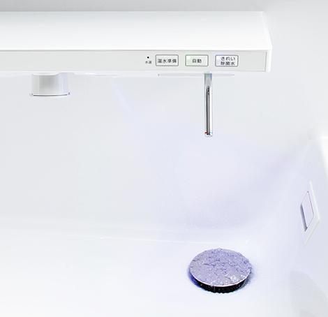 TOTO洗面化粧台【オクターブ】キレイ除菌水写真
